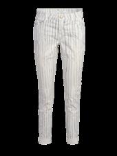 Summum Woman Trousers Fine Stripe Shell
