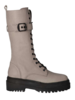Red Rag Mid Lace-Up Boots Taupe Nappa