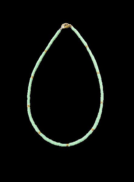 Handmade  Necklace Green