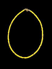Handmade  Necklace Yellow