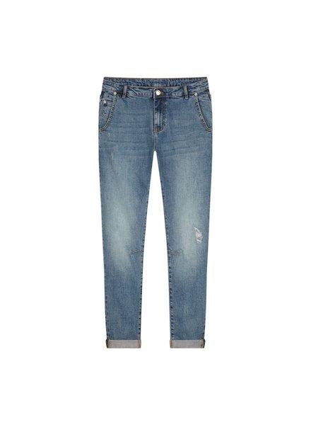 Summum Woman Tapered Jeans Twill Stretch Denim