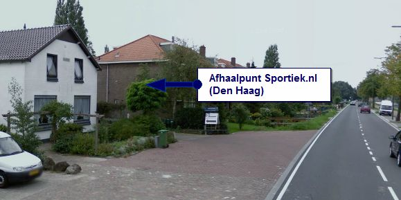 Oprit afhaalpunt Den Haag