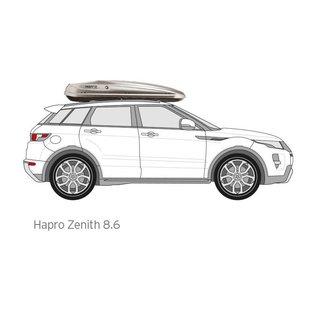 Hapro Zenith roof box 8.6.
