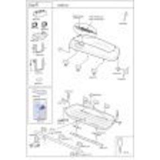 Hapro Dakkoffer onderdelen Carver handlingkosten