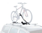 Bicycle rack for the roof