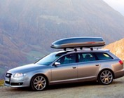 Roof boxes, ski boxes