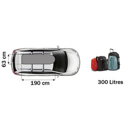 Thule Roof box Touring Sports (600) va