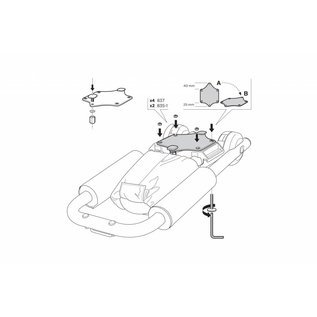 Thule Adapter T-profile 881