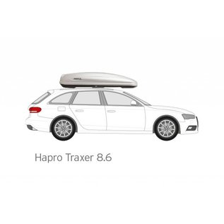 Hapro Roof box Traxer 8.6 from
