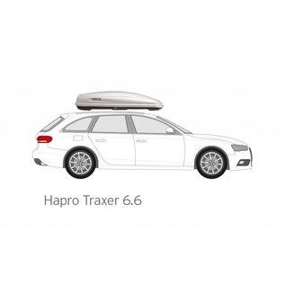 Hapro Roof box Traxer 6.6 va
