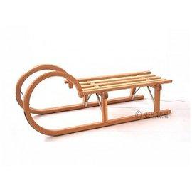 Wooden sledge Horn