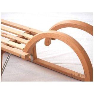Holzlatten Gloco Hear Schlitten mit Sitz 100/115 cm