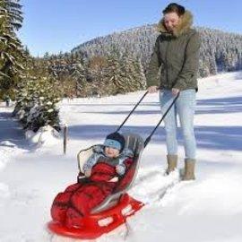 KHW Schlitten Schnee Baby Suche