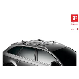 Thule Wingbar Edge 958 for cars with an open roof rail