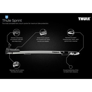 Thule Fietsdrager ThruRide 565