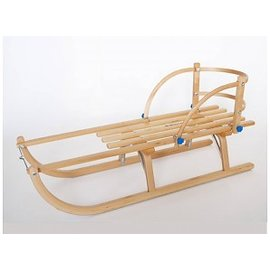 OFFER!! Wooden sledge Davos 90/100 cm va