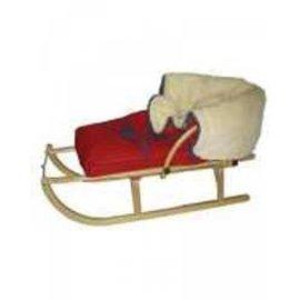 KHW Sitzsack Schnee Teddy für Schlitten