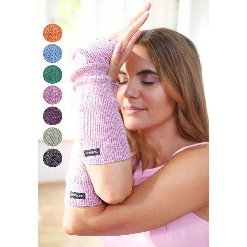 YOGISTAR Yoga Polswarmers Wol