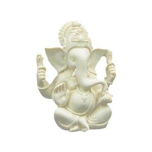 Ganesh beeld wit