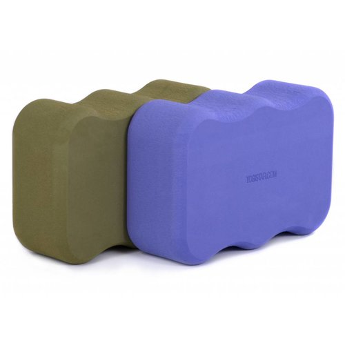 YOGISTAR Yoga Blok Basic Wave
