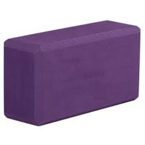 YOGISTAR Yoga Blok Basic ECO Aubergine
