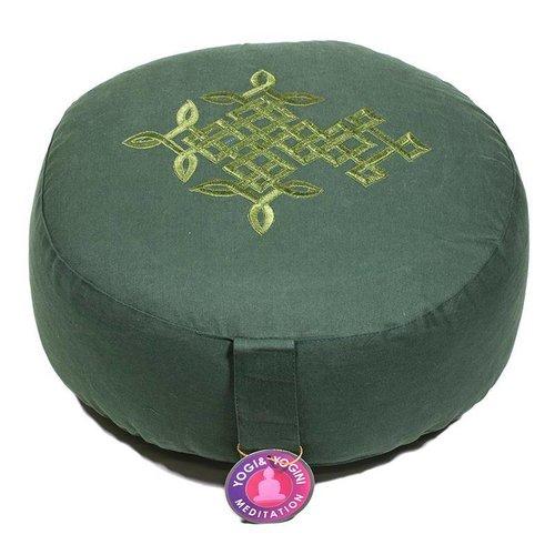 Yogi & Yogini Meditatiekussen Keltische Levensbloem - Groen