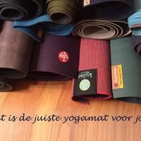 Hoe kies ik de juiste yogamat?