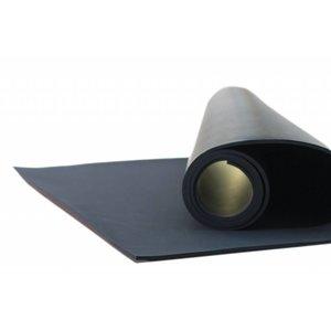 YogaMat Natuurrubber-Zwart 5 of 9 mm.