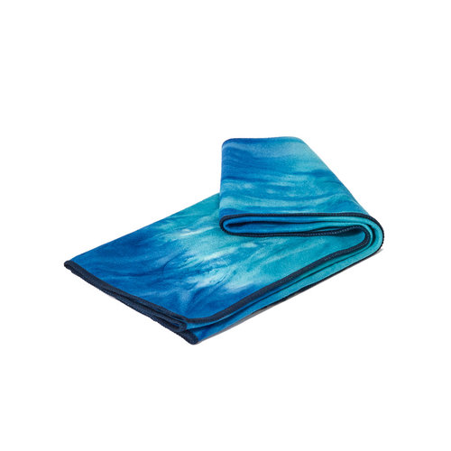 Manduka Yoga Hand Towel eQua Pacific Blue