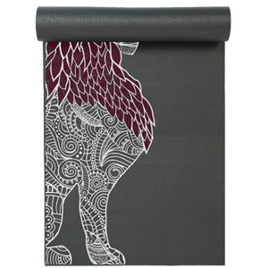 Yoga Studio Yogamat Studio Leeuw Designed Grey Yoga Mat (6mm)