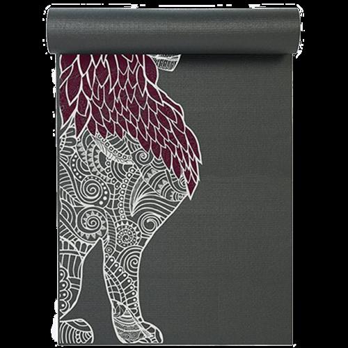 Yoga Studio Yoga Studio Leeuw Designed Grey Yoga Mat (6mm)