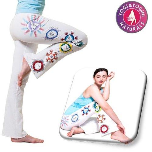 Yogamasti Yoga Broek Chakra Wit