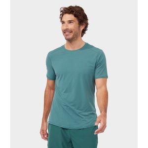 Manduka T-shirt Tech Tee Deep Surf Green