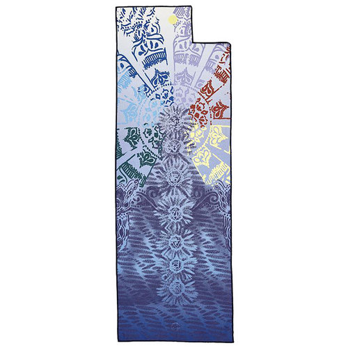 Yogitoes, yoga handdoeken Yogitoes® yoga towel - chakra print blue 2.0