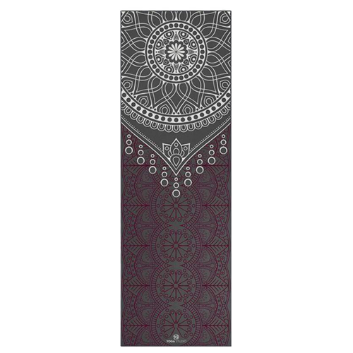 Yoga Studio Yogamat Design Grey Dew Drops (6mm)