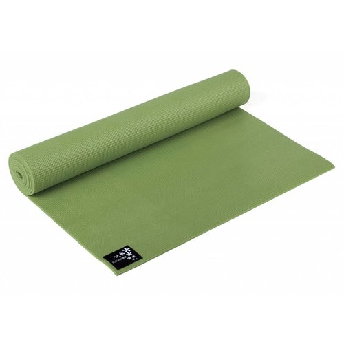 YOGISTAR Yoga Mat Basic Olijf / Kiwi