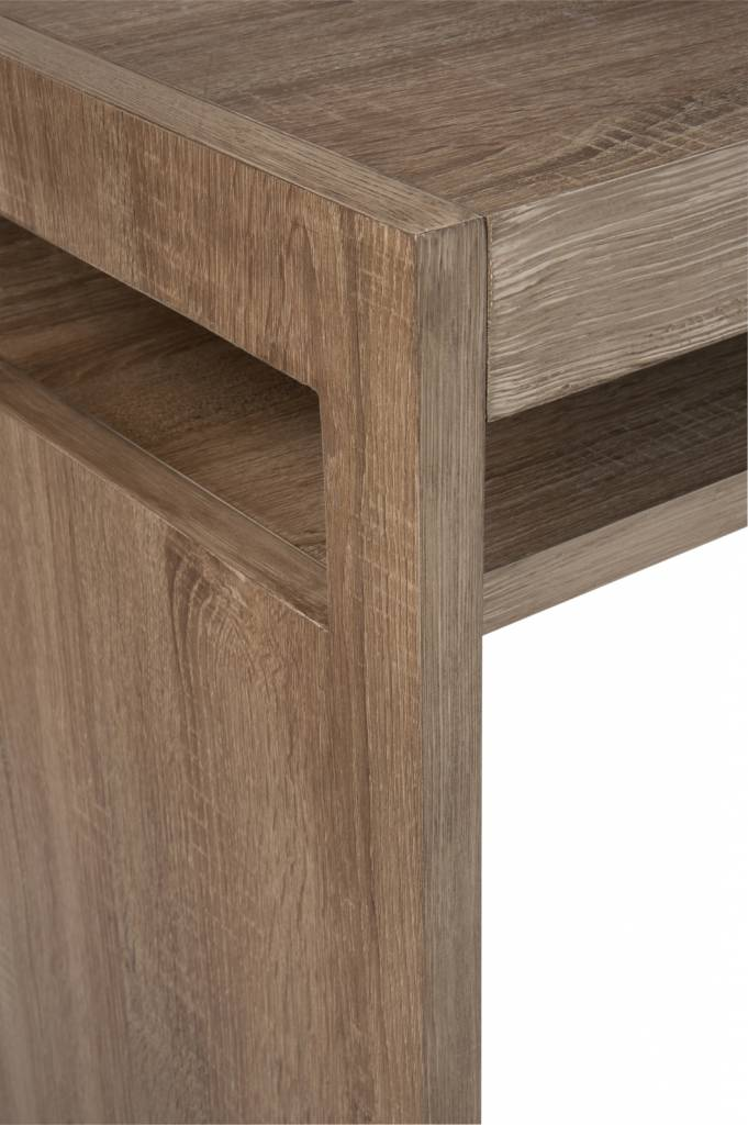 Duverger Tight - Sidetable - legplank - naturel - hout - 180x40x80cm