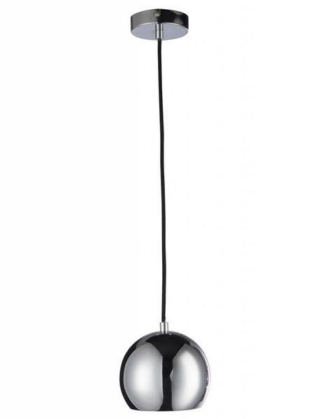 Duverger Seventies - Hanglampjes - set van 2 - bol - zilverkleurig - dia 15x120cm