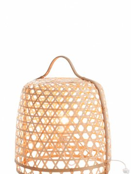 Duverger Bamboo light - Vloerlamp - cilinder - bamboe - naturel