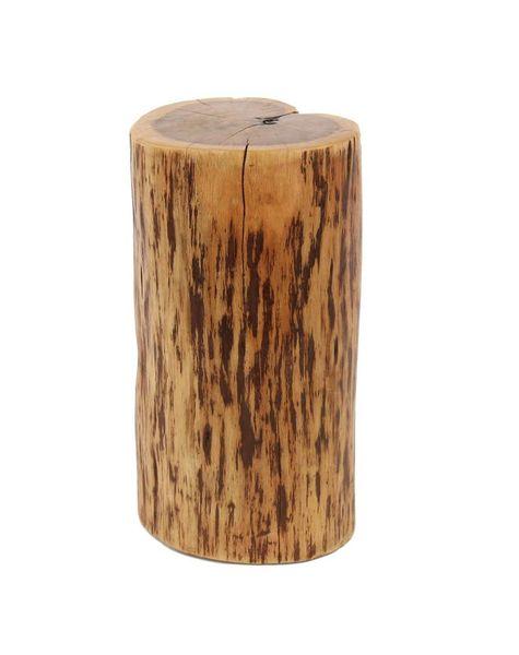 Duverger Boomstam - Bijzettafel - massief acacia - uniek - 35x30x45cm
