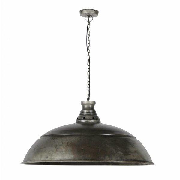 Duverger® Industry - Hanglamp - dia 80cm - oud zilver - met LED lichtbron