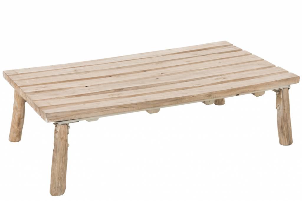Duverger Nature - salontafel - rechthoekig - eik - naturel