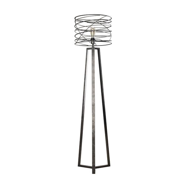 Duverger® Spiral - Vloerlamp - dia 40cm - metaal - met LED lichtbron
