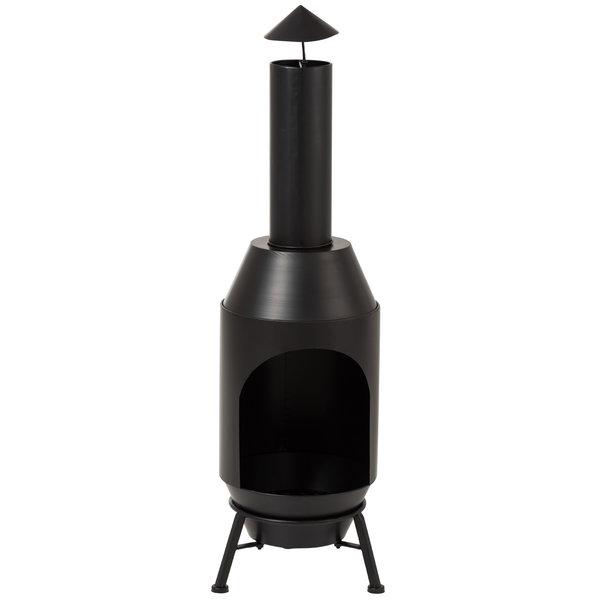 Duverger® Garden - Vuurkachel - zwart - metaal