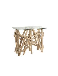 Duverger® Nature branches - Sidetable - hout takken - glazen blad - rechthoekig