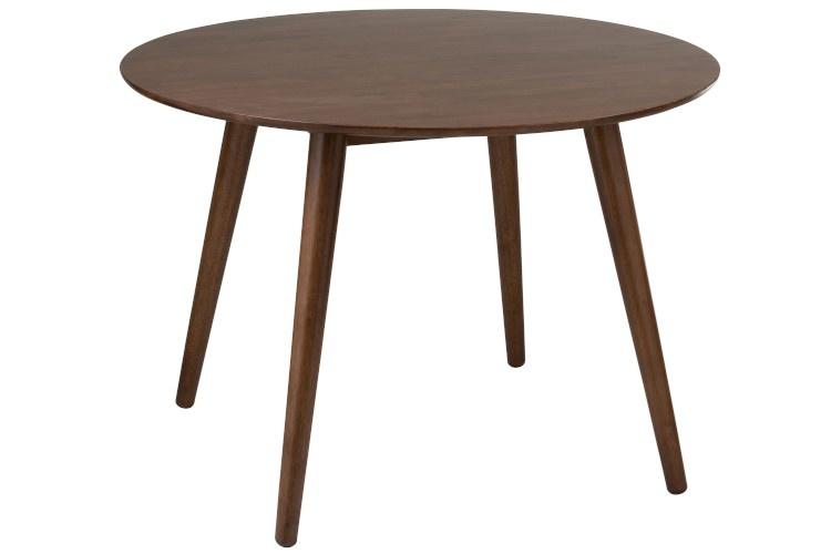 Duverger Pure Scandinavian - Eettafel - rond - dia 107cm - bruin - hout