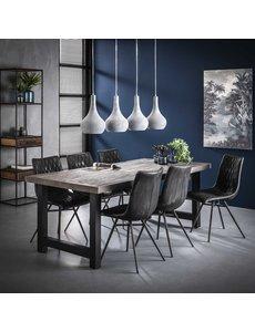 Duverger® Strips - Eettafel - L200 - acacia - rough grey - grijs