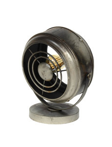 Duverger® Beamer - Tafellamp - metaal - oud zilver - met LED lichtbron
