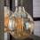 Duverger® Lichtbron LED filament bol dia 12,5cm amberkleurig