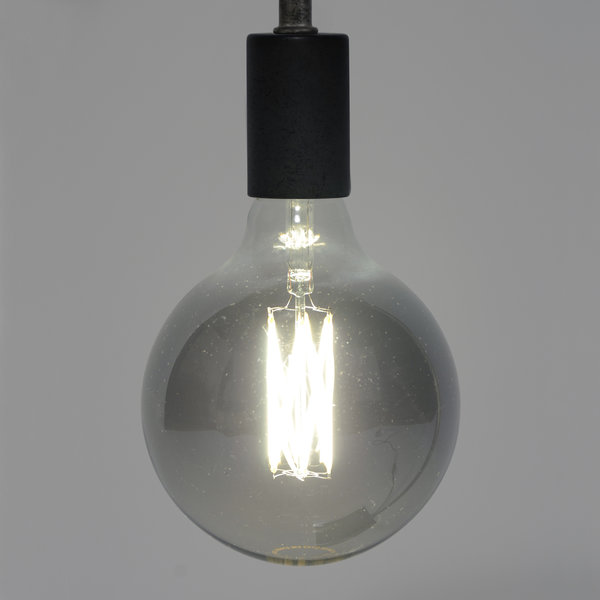 Duverger® Lichtbron LED filament bol dia 12,5cm smoke grey
